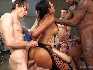 групповое порно студентов на природе